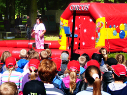 Clown am Kindertag, Foto: Th. Erdmann